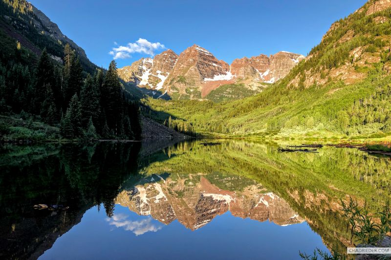 Maroon Bells Summer Sunrise