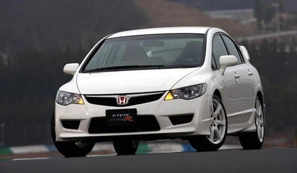 Replica JDM FD2 Type-R Front End Conversion: 06-11 Honda Civic Sedan