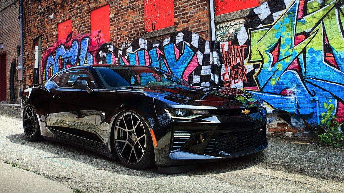 Airlift Performance Suspension: 16-18 Chevrolet Camaro