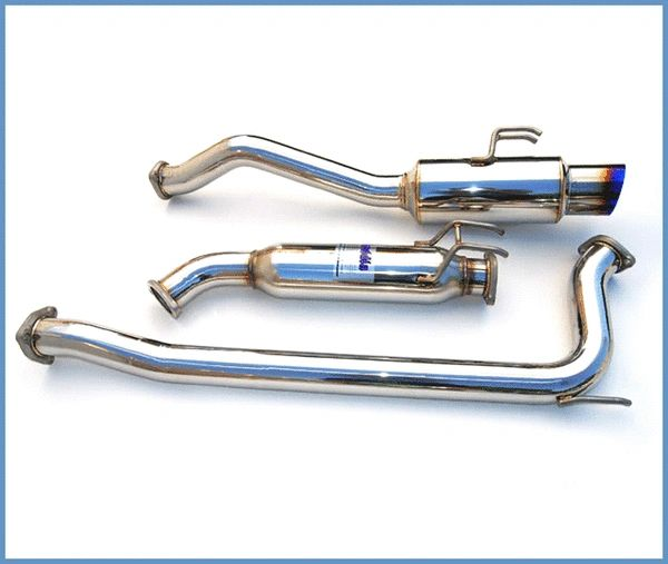 Invidia N1 Catback Exhaust - Titanium Tip: 06-11 Honda Civic Si Sedan