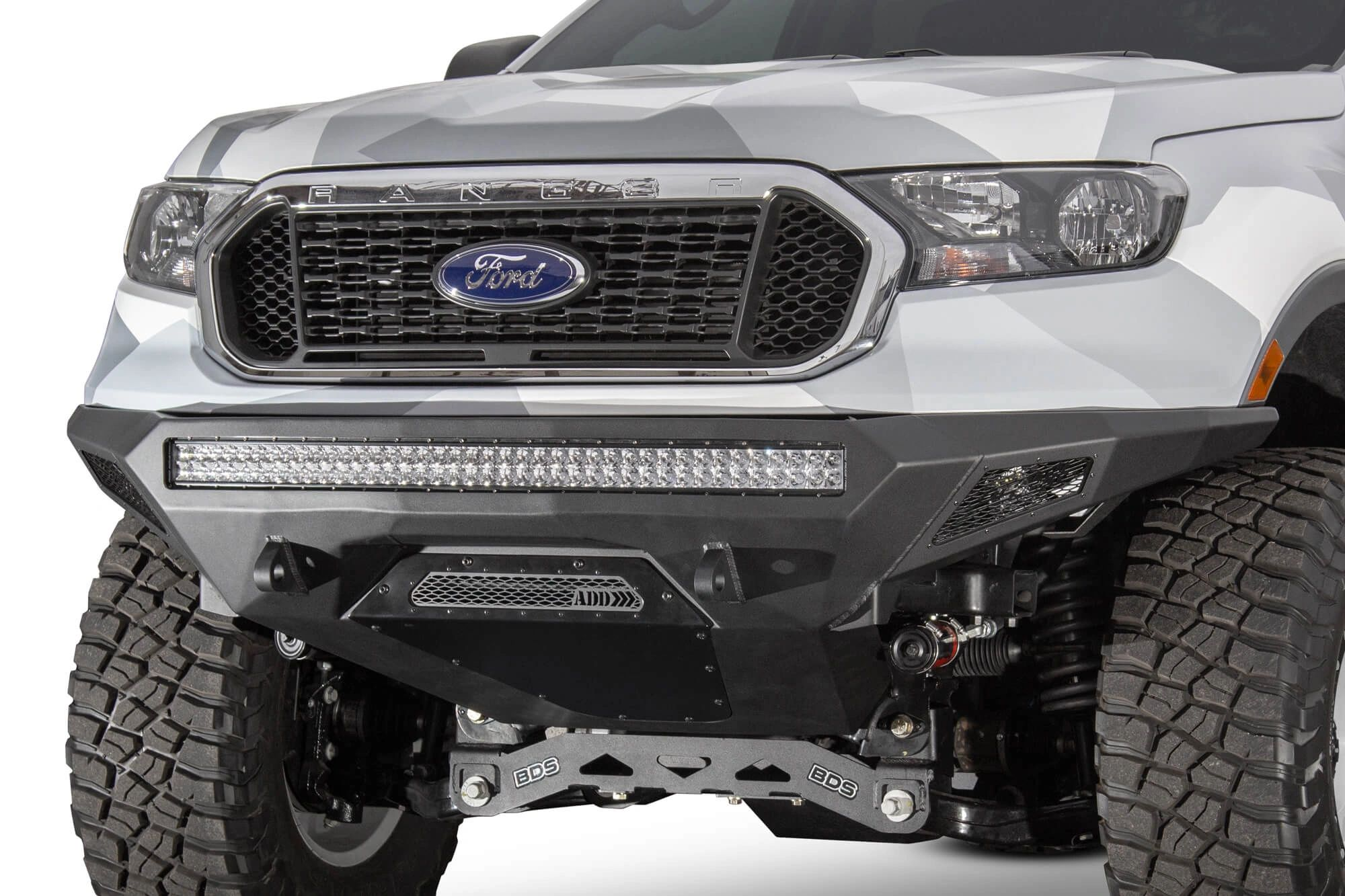 Addictive Desert Designs - STEALTH FIGHTER FRONT BUMPER: 2019 Ford Ranger