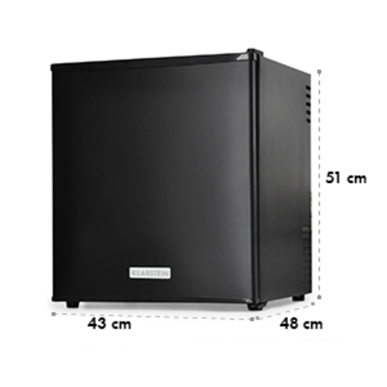 Minibar réfrigérateur à boissons 40 litres 2 étagères Classe A- Noir