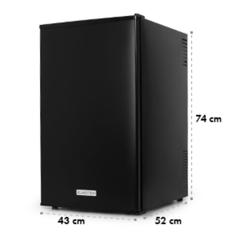 MKS-9 minibar réfrigérateur frigo 66 litres noir