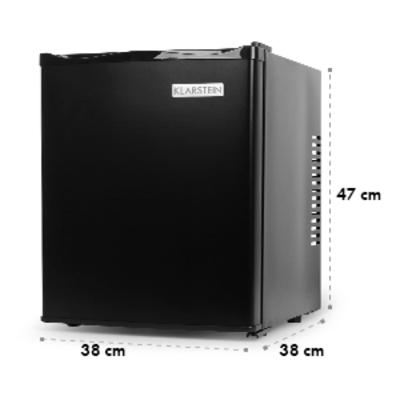 Chladnička Klarstein MKS-10, čierna, 24 l, 0 dB