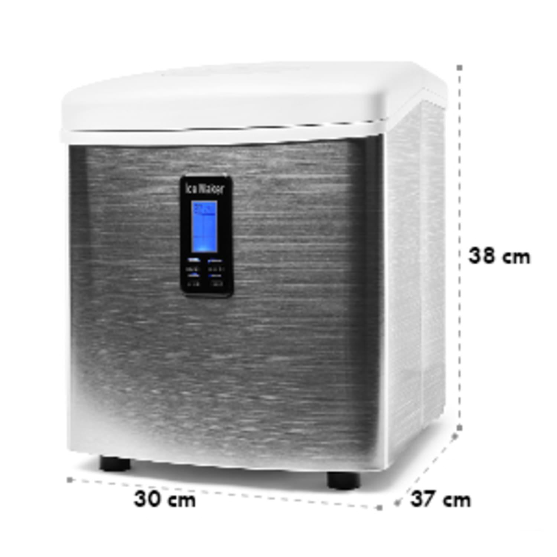 Mr. Black-Frost Máquina de gelo 150W 15kg - Branca