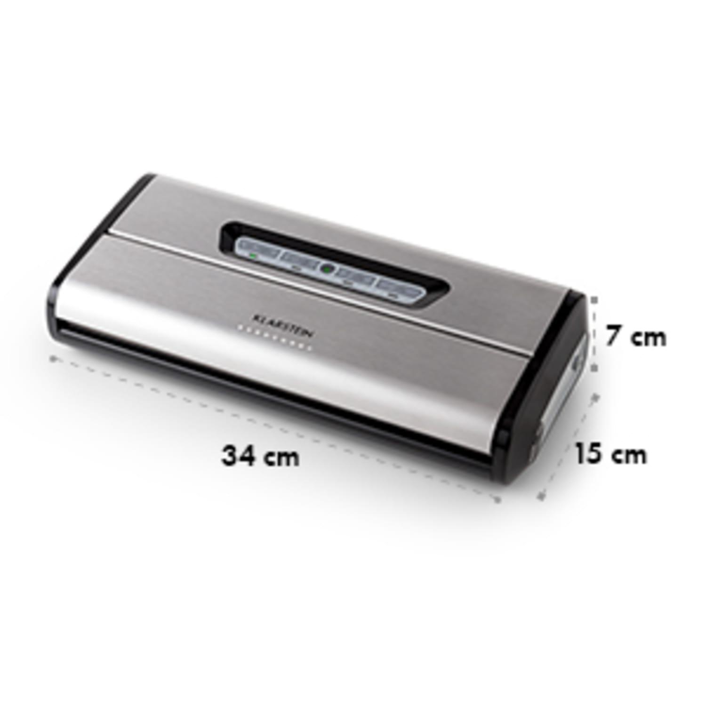 Foodlocker vacuum verpakker roestvrij staal 0,8 bar 16 l/min