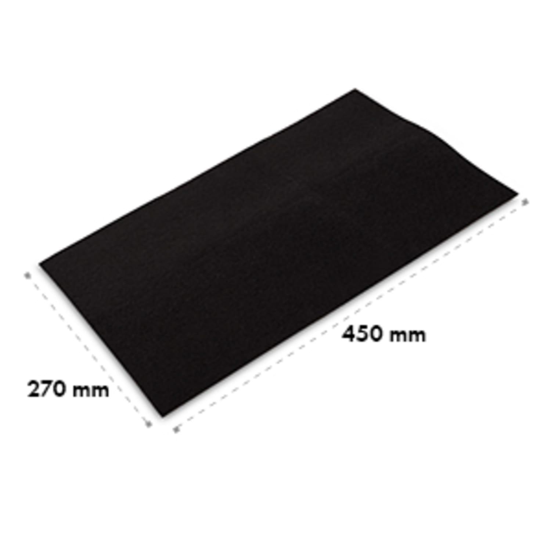 Filtre à charbon actif pour hotte aspirante 45 x 27 cm