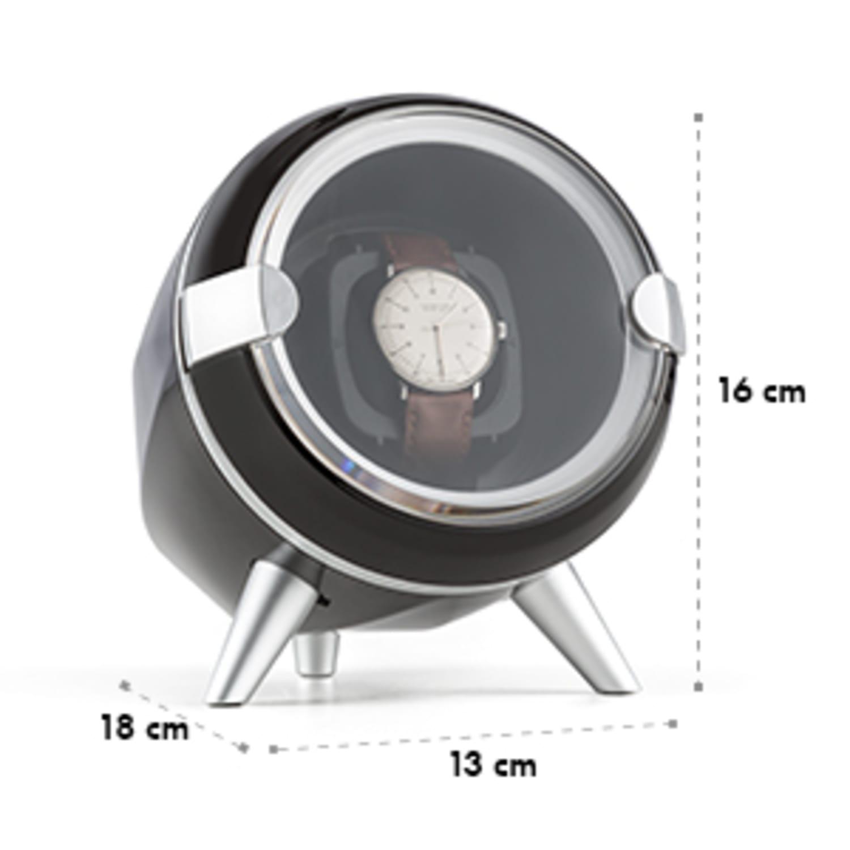 Sindelfingen Uhrenbeweger Rechts-Links-Lauf 1 Uhr schwarz