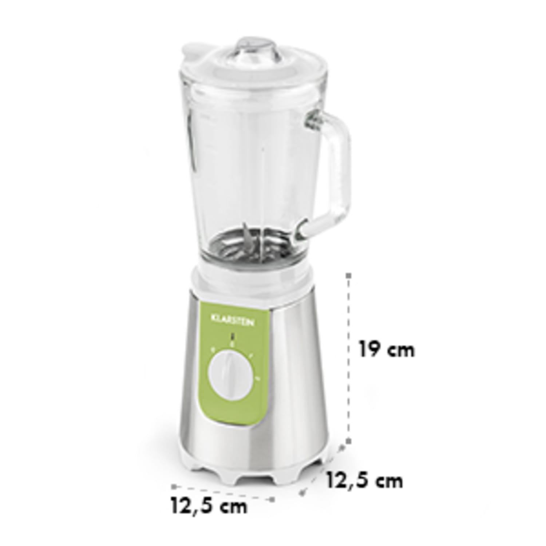 Shiva Standmixer Mini Smoothiemaker 0,8l 350W BPA-frei grün