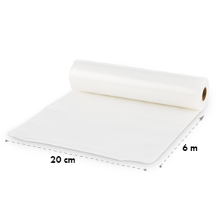Bagpack L vacuumzak honingraatstructuur buisfolie 2x 600x20 cm