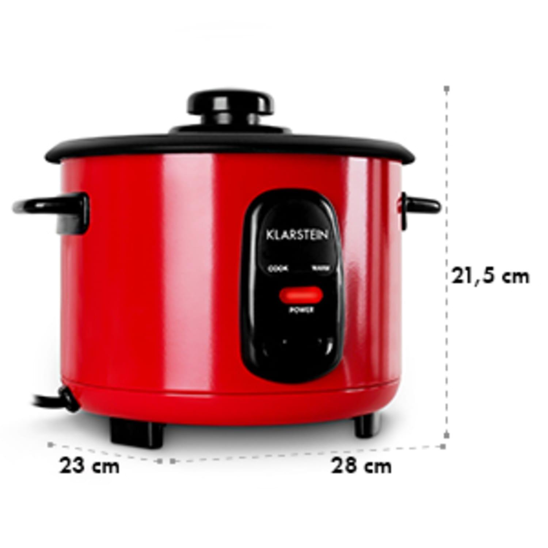 Osaka 1 Cuiseur à riz 1 litre fonction réchaud - rouge