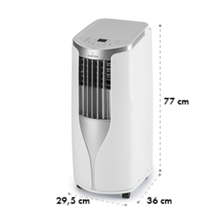 New Breeze 7 Climatiseur mobile 7000 BTU Classe énergétique A télécommande - blanc