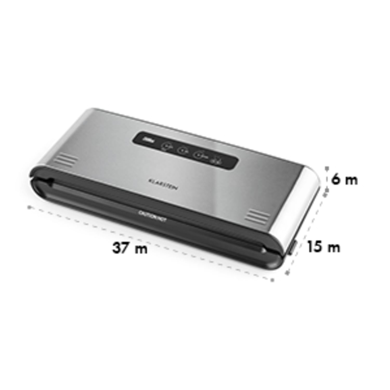 Foodlocker Pro Vacuüm Seal-apparaat 30 cm 120W -0,8 bar 12 l/min Roestvrij staal