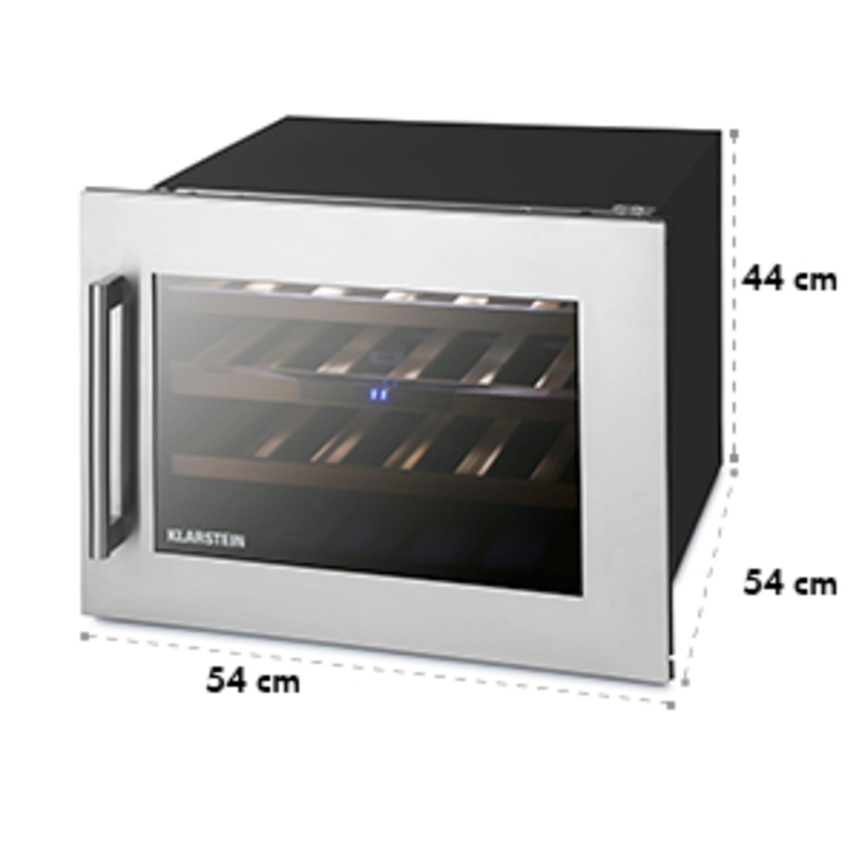 Vinsider 24 Réfrigérateur à vin encastrable Uno 24 Bouteilles 57 Litres