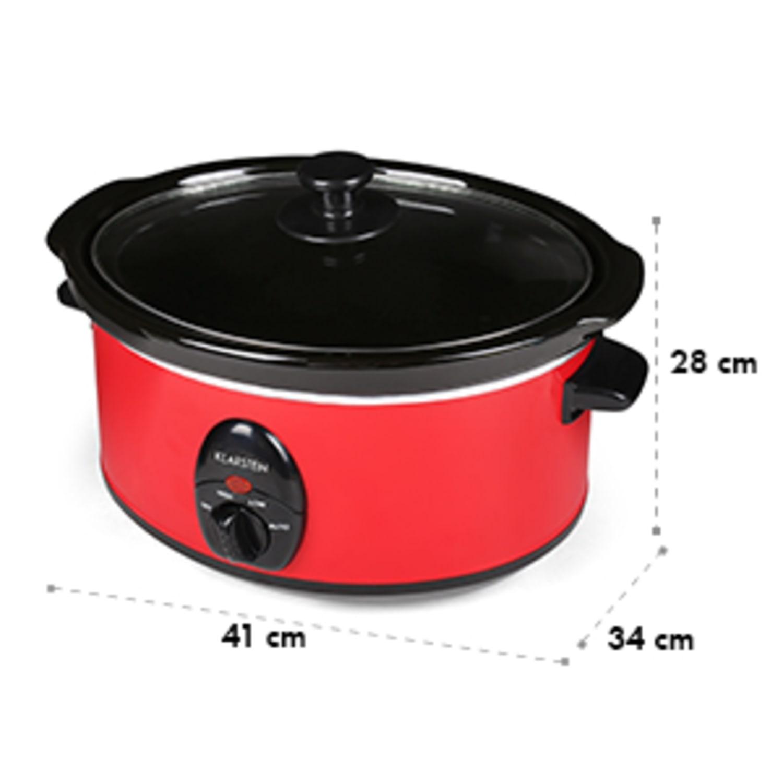 Bristol 35 wolnowar slow cooker 3,5l 200W czerwony