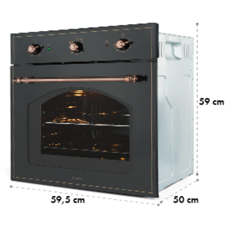 Klarstein Vilhelmine, fekete, sütő, 55 l, beépített, A energiahatékonysági osztály