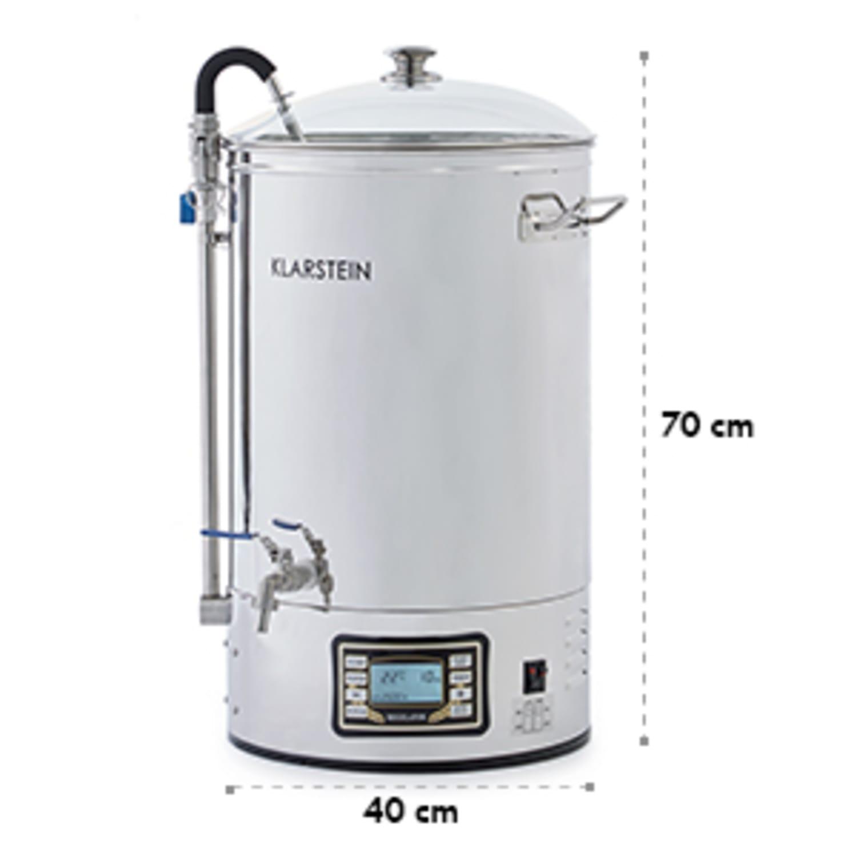 Mundschenk Caldaia Brewing Impianto Birra Artigianale 2500W 30l Acciaio inox