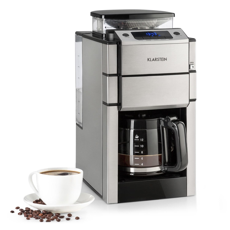 Aromatica X ekspres do kawy młynek szklany dzbanek aromat+ stal nierdzewna