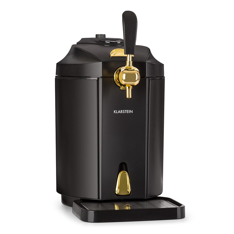 Dispensador de cerveja Skal refrigerador de cerveja Barril de 5l CO2 Aço Inoxidável Preto