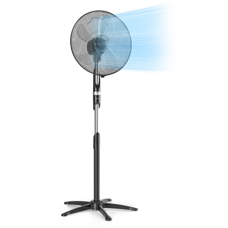 """Summer Vibe ventilateur sur pied 16"""" 55 W 2040 m³/h Oscillation 65° noir"""
