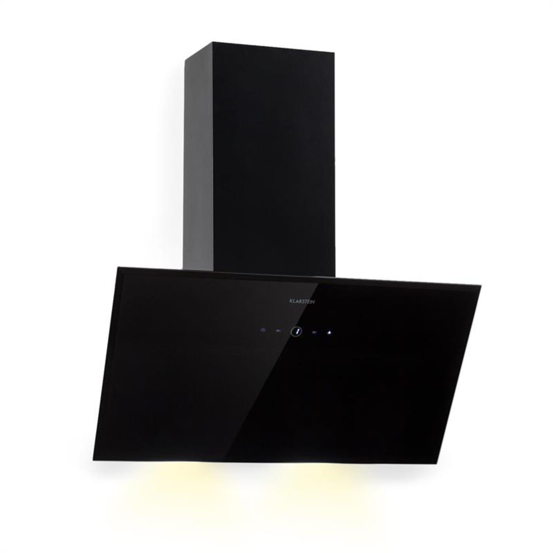 Laurel 60 Hotte aspirante 60cm extraction 350 m³/h classe B - noire