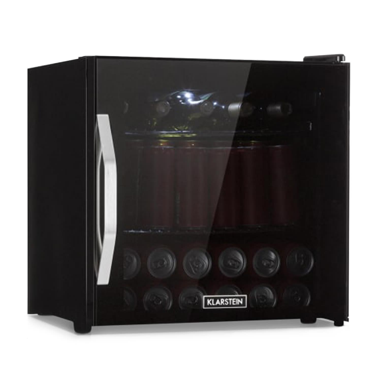 Beersafe L Onyx Réfrigérateur 47 litres 2 clayettes Porte en verre panoramique