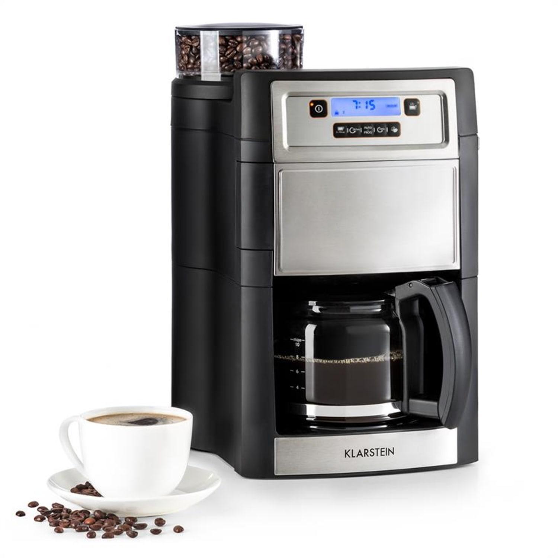 Aromatica II, kávéfőző, beépített daráló, 1.25 l, ezüst