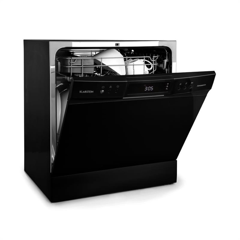 Amazonia 8 Neo, mosogatógép, 8 program, LED kijelző, fekete