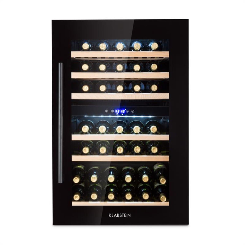 Vinsider 35D Onyx Edition Weinkühlschrank Einbaugerät Energieklasse C