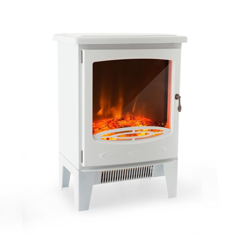 Meran Electric Fireplace 950 / 1850W InstaFire Dimmable White