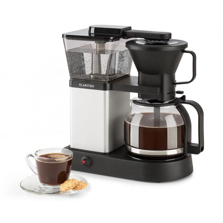 GrandeGusto, kávovar, 1690 W, 1.3 l, pre-infusion, 96 °C, čierny/metalický