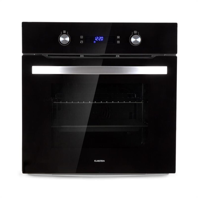 Gusteau, beépíthető sütő, elektromos, 2950 W, 8 funkció, fekete