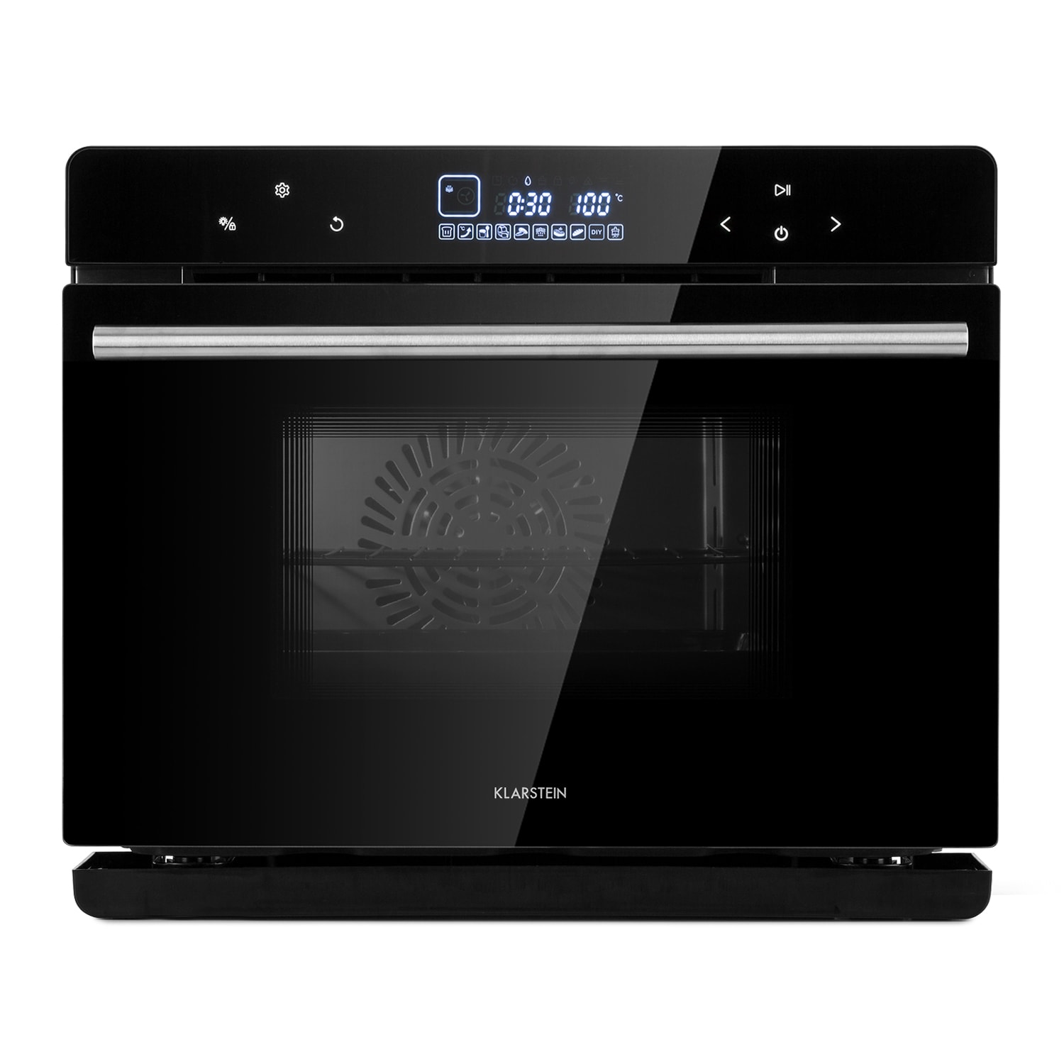 MasterFresh Steam Oven 230 ° C 24l Touch Control Panel Black