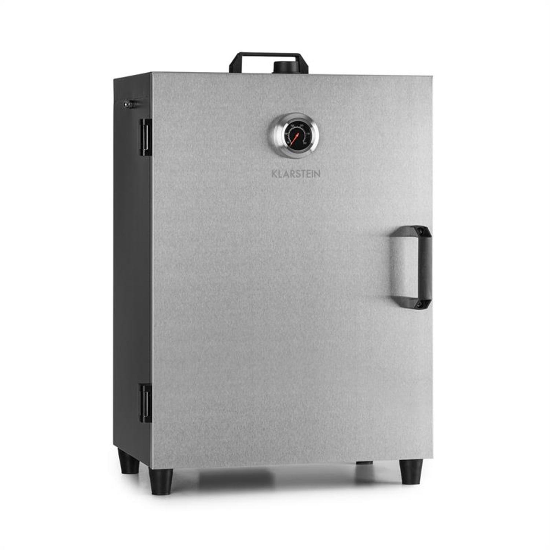 Flintstone Steel, naprava za dimljenje, peč za dimljenje, 1600 W, vgrajen termometer, nerjaveče jeklo
