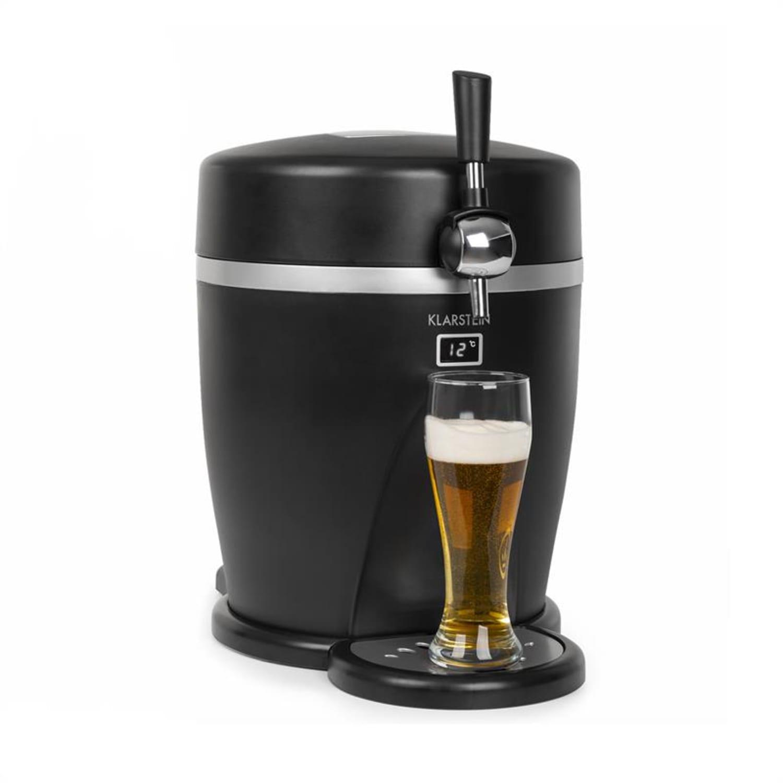 Tap2Go, hordozható sörcsap, 2 az 1-ben italhűtő, 5 l/13 l, fekete