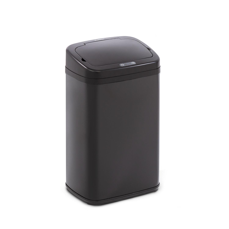 Cleansmann Mülleimer Sensor 30 Liter für Müllbeutel ABS Edelstahl schwarz