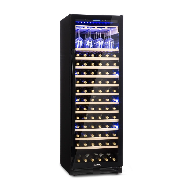 Vinovilla Onyx Grande, vinoteka velikog kapaciteta, 433 l, 165 boca, crna