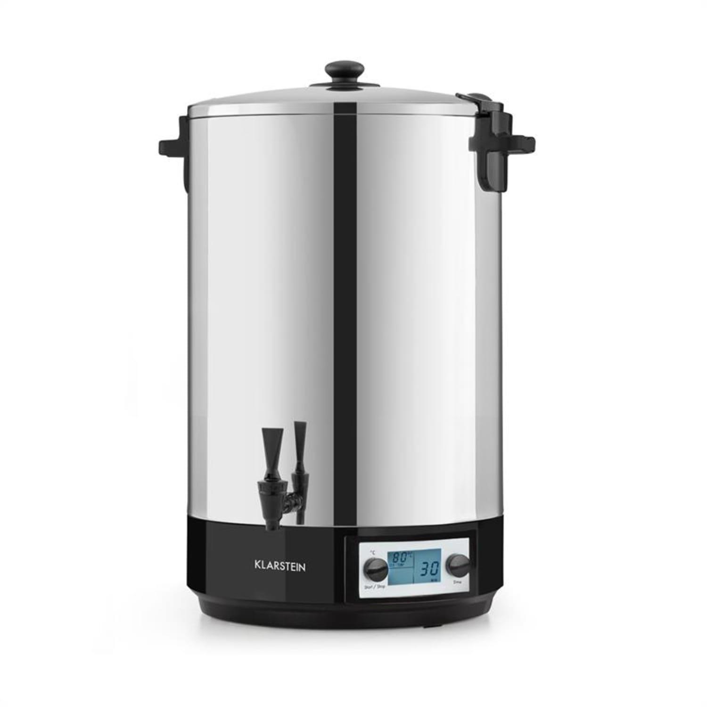 Konfistar 50, digital, fierbător și aparat de conservare, recipient pentru băuturi, 50L, 100 ° C, 180 min, 2500 W