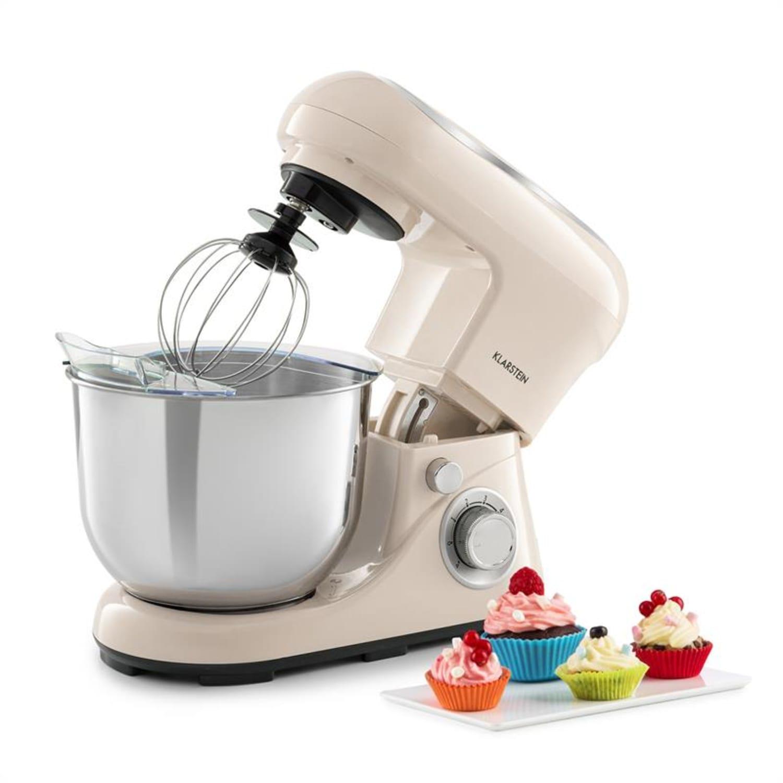 Bella Pico 2G Robot de cuisine 5 litres 6 vitesses  1200W - crème