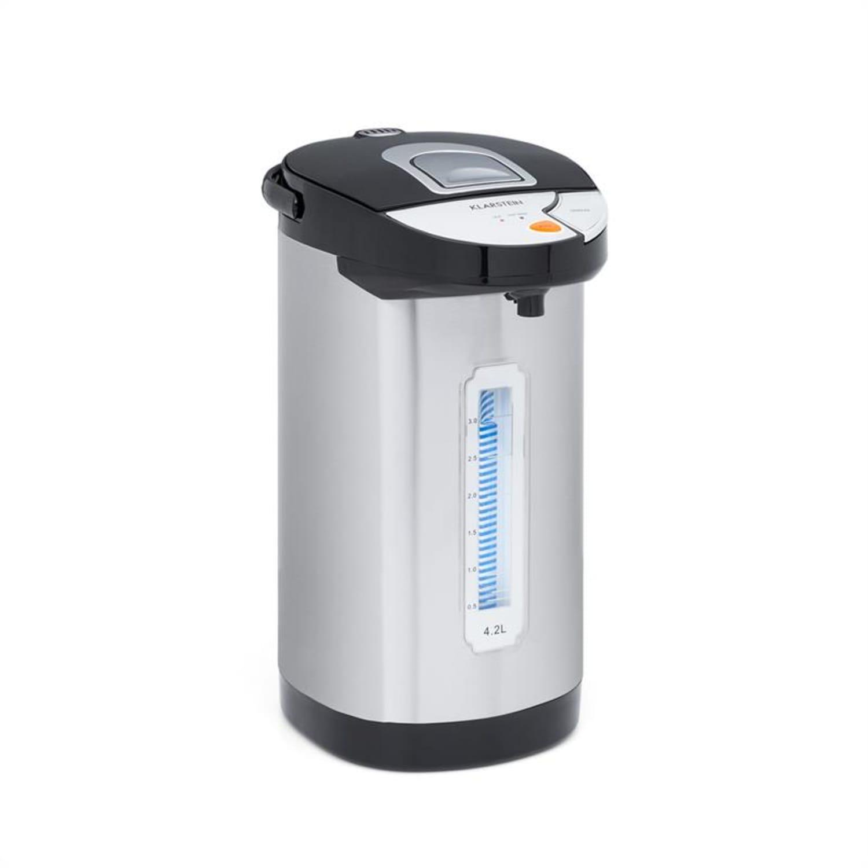 Hot Spring Dispensador de agua caliente 4,2l Depósito Acero Inoxidable Plateado
