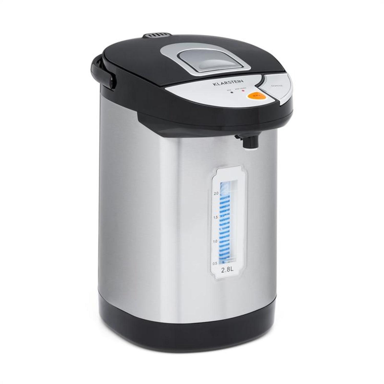 Hot Spring Dispensador de agua caliente 2,8l Depósito Acero Inoxidable Plateado