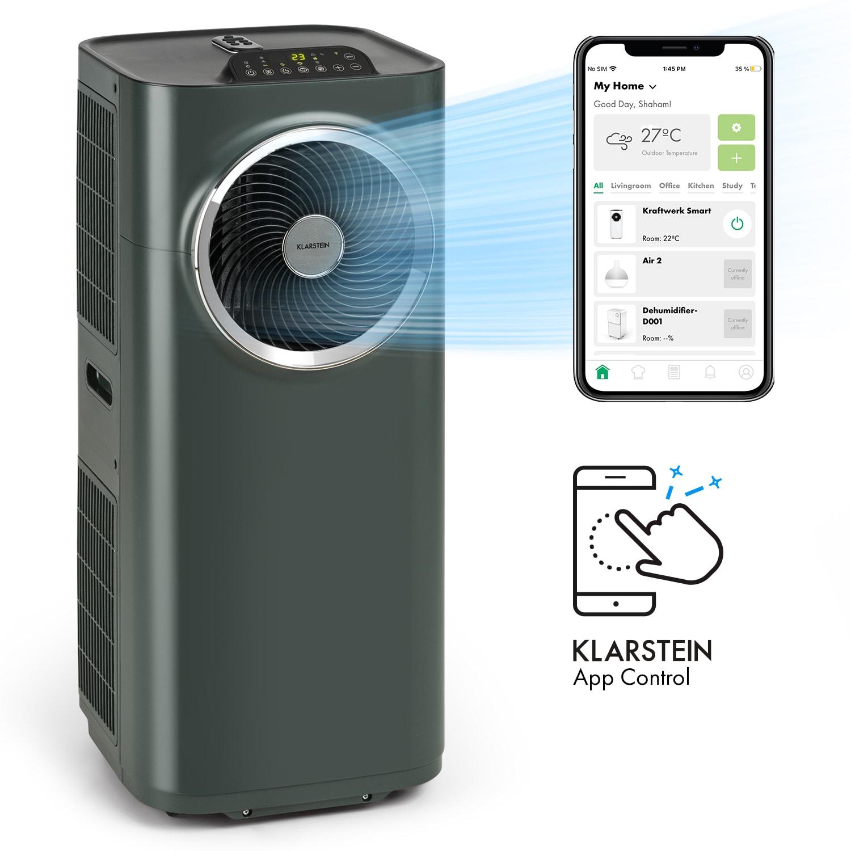 Kraftwerk Smart 10K, légkondicionáló, 10 000 BTU, irányítás alkalmazás által, antracit