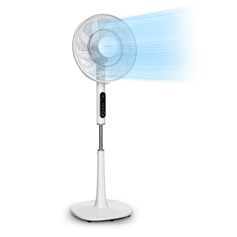 "Sommerwind staande ventilator 16"" 35W DC motor 5544 m³/h oscillatie wit"