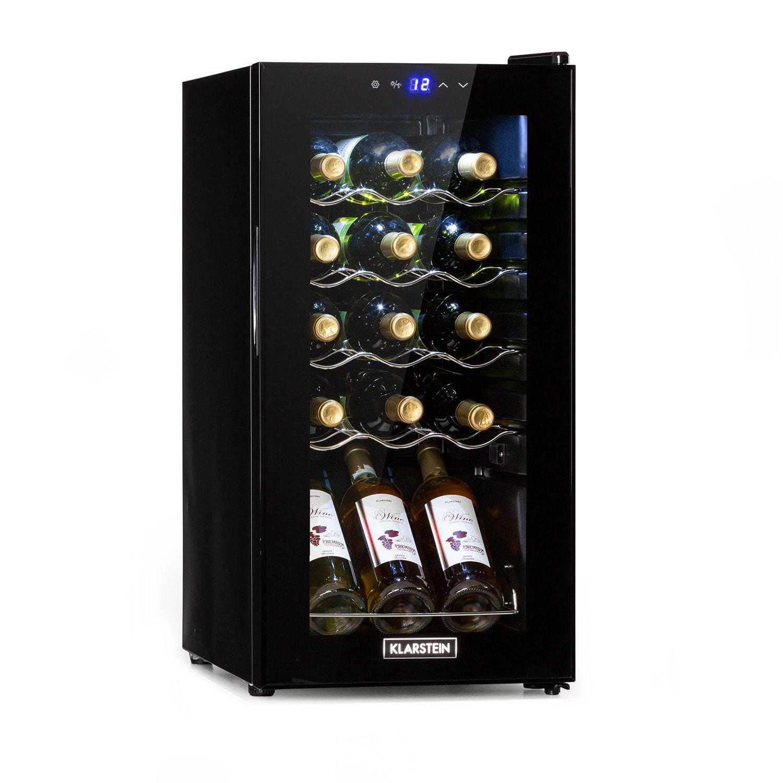 Shiraz 15 Slim Uno Weinkühlschrank 44l Touch-Bedienfeld 135W 5-18°C