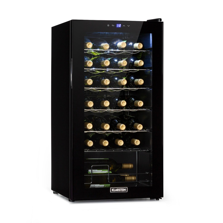 Shiraz 28 Uno, vinoteka, 74 L, 28 boca, touch screen, 5 – 18 °C, crna