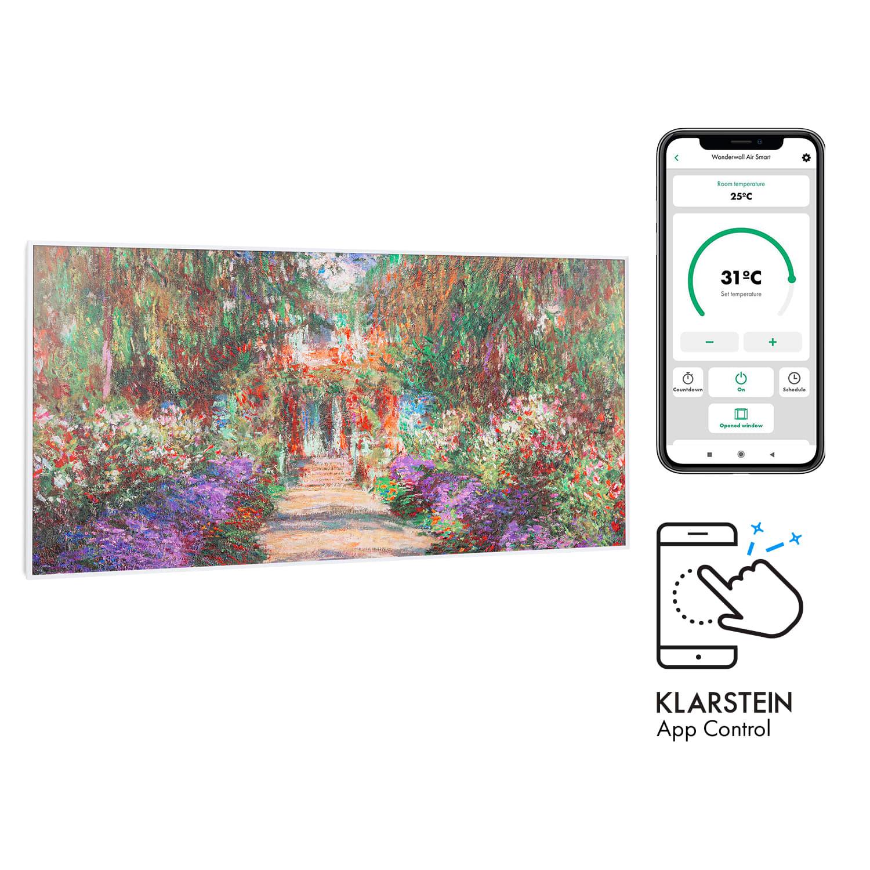 Wonderwall Air Art Smart, инфрачервен нагревател, 120 х 60 см, 700 W, приложение, градински път
