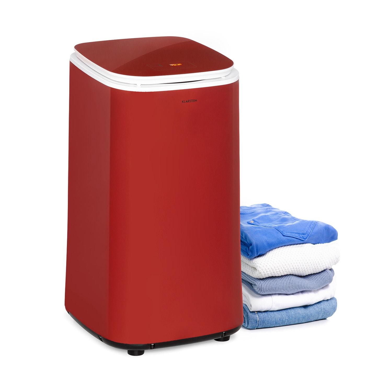 Zap Dry, sušička prádla, 820 W, 50 l, dotykový ovládací panel, LED displej, červená