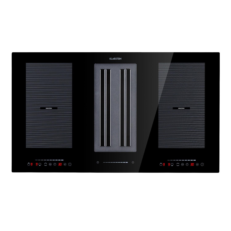 Full House 2.0 Down Air System, Piano cottura a induzione + cappa aspirante, A+, 271 m³/h