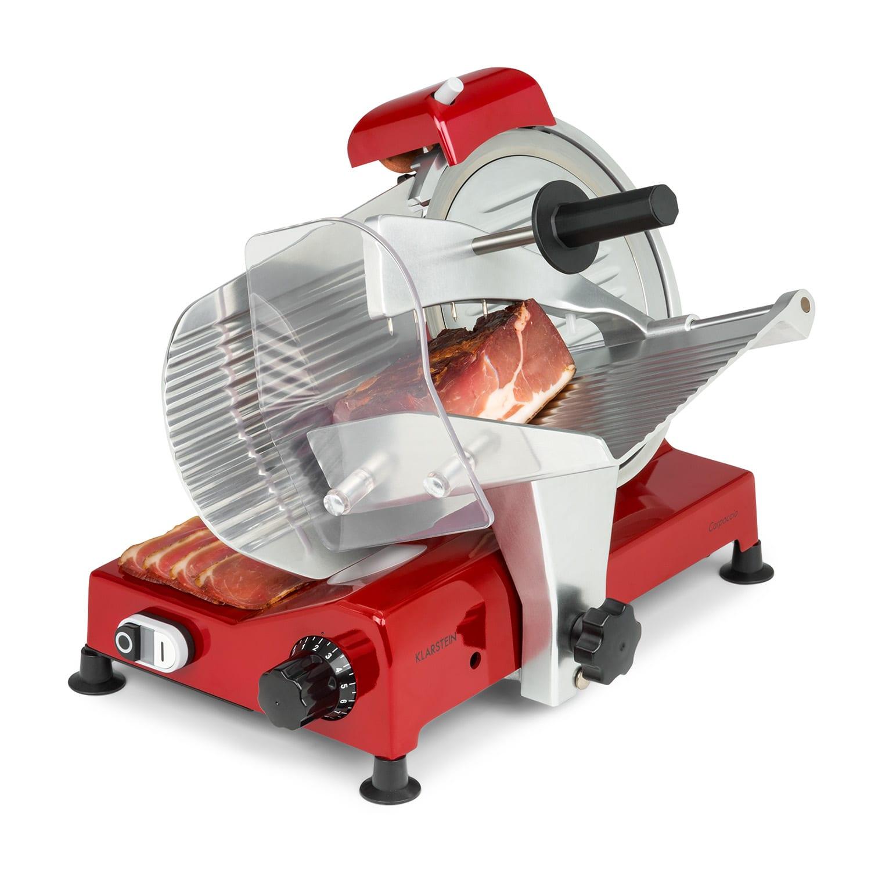 Carpaccio Schneidemaschine 240W 0-12mm 200x155mm Edelstahl