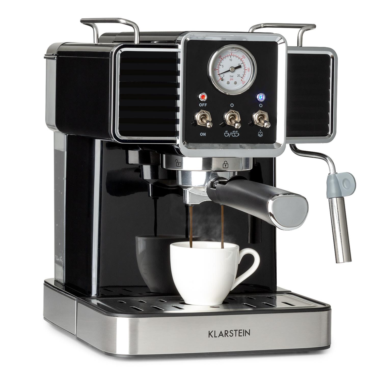 Gusto Classico, aparat za espresso, 1350 W, tlak 20 barov, rezervoar za vodo: 1,5 litra